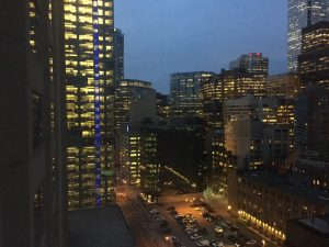 Downtown Toronto at Night - Toronto Yoga Conference & Show 2017